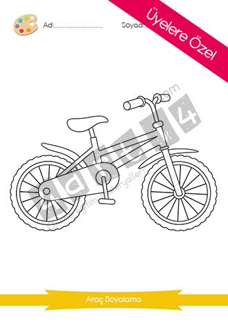 Bisiklet Boyama Etkinligi